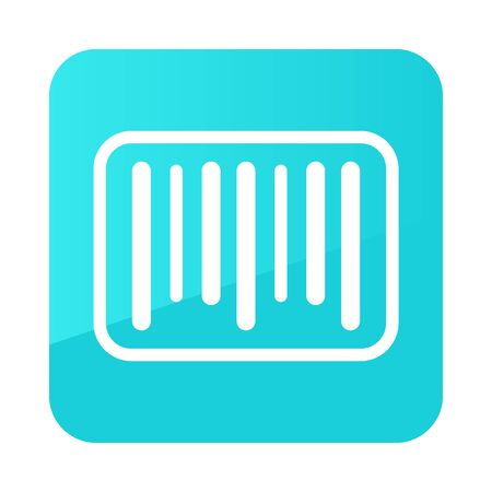 Barcode icon. E-commerce sign. Graph symbol for your web site design,   app, UI. Vector illustration Çizim