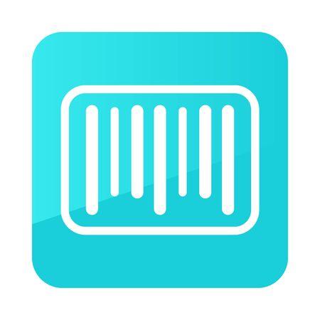 Barcode icon. E-commerce sign. Graph symbol for your web site design,   app, UI. Vector illustration Illustration