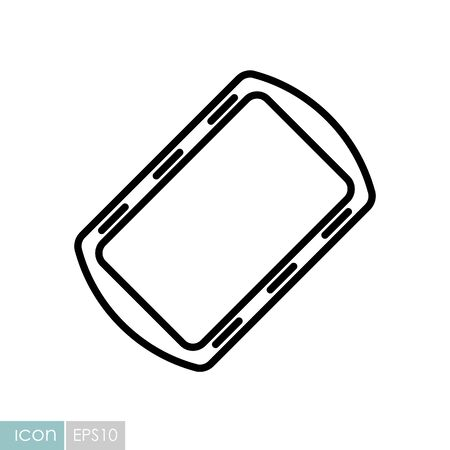 Pan tray for cooking and baking in oven vector icon. Kitchen appliance. Graph symbol for cooking Vector Illustratie