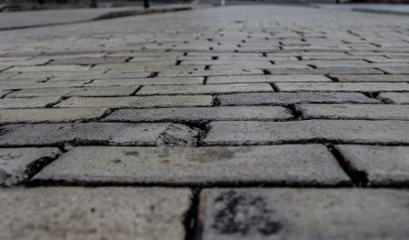 Grey brick sidewalk Reklamní fotografie