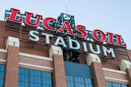 indy: Sign atop Lucas Oil Stadium
