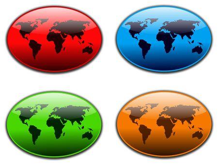 World web buttons
