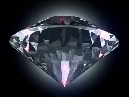 Diamond in the light Stok Fotoğraf
