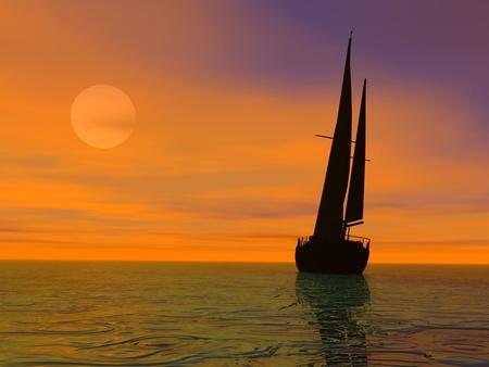 Evening travel