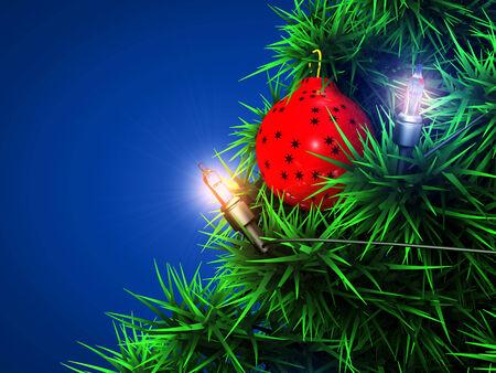 Christmas ball background Stok Fotoğraf - 24687929