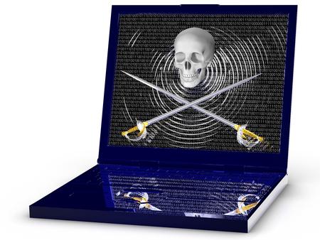 Pirate laptop