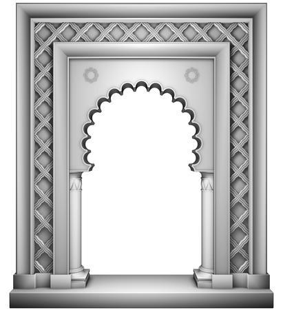 Oriental style frame Stok Fotoğraf - 35233033