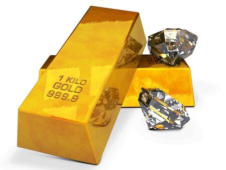 Goud en diamanten