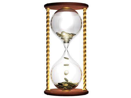 Tijd en geld concept