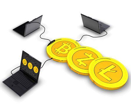 Cryptocurrency mijnbouw