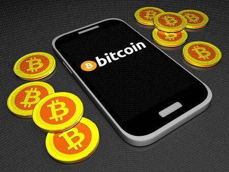 Bitcoin mobiele portemonnee