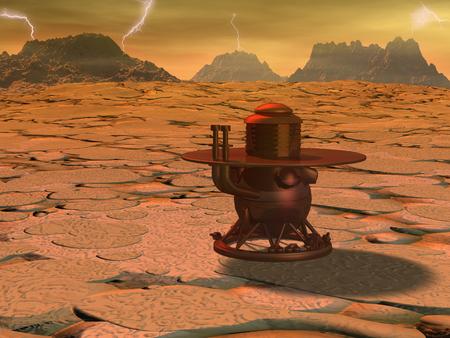 Venus landing