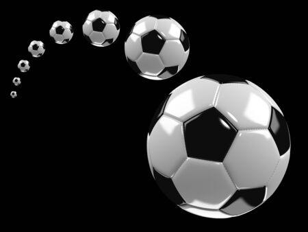 Vliegende voetbal
