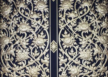 아시아 연꽃 트레이시 패턴 배경