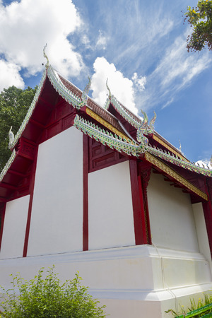 comtemporary: the comtemporary architecture style of thailand temple