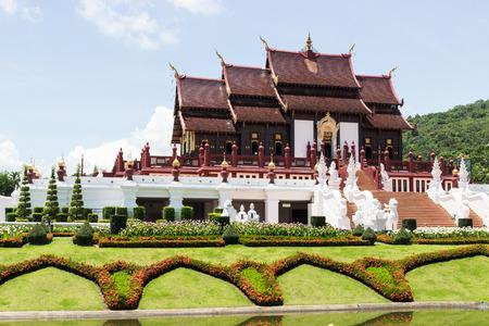 the Thailand art decoration of the royal pavilion