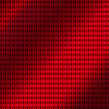 sheet iron: embossing metallic background in red color tone, illustration vector eps10