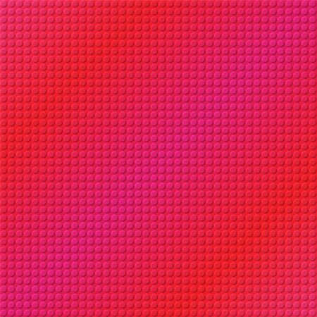 industrial sheet iron: embossing metallic background in pink and red tone, illustration vector eps10 Illustration