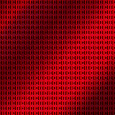 emboss: embossing metallic background in red color tone, illustration vector eps10