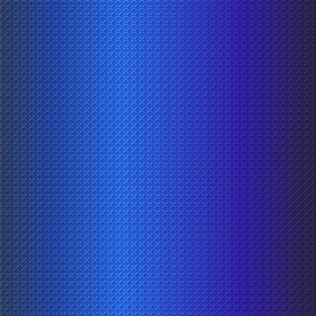 industrial sheet iron: embossing metallic background in blue tone, illustration vector eps10