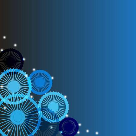 blue circle: c�rculo azul resumen de antecedentes, ilustraci�n vectorial eps10