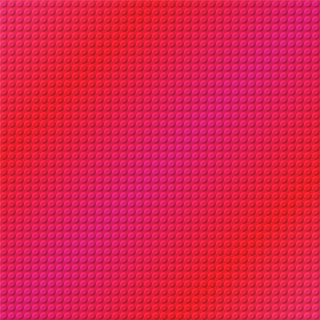 sheet iron: embossing metallic background in pink and red tone, illustration vector eps10 Stock Photo