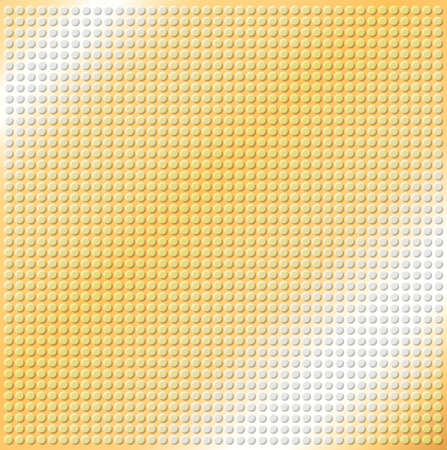 embossing: embossing metallic circle background in yellow brown tone, illustration vector