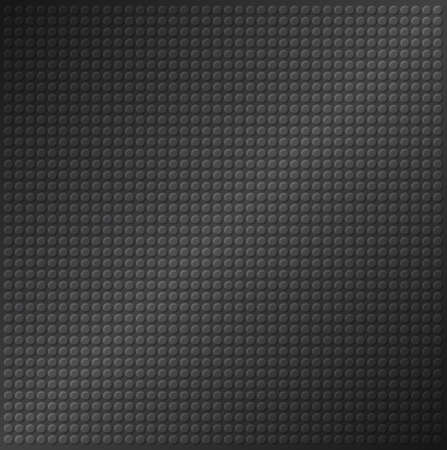 emboss: embossing metallic circle background in black tone, illustration vector   Stock Photo
