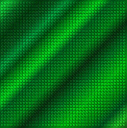 embossing: embossing metallic circle background in green tone, illustration vector   Stock Photo