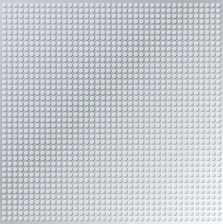 embossing metallic circle background in silver tone, illustration vector