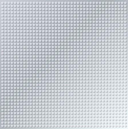embossing metallic cirkel achtergrond in zilver toon, illustratie vector Stockfoto
