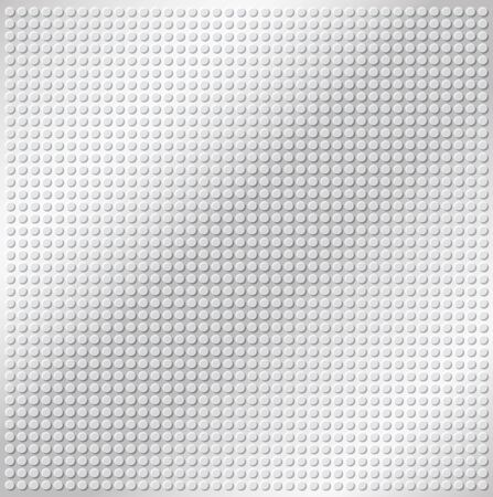 industrial sheet iron: embossing metallic circle background in silver tone, illustration vector
