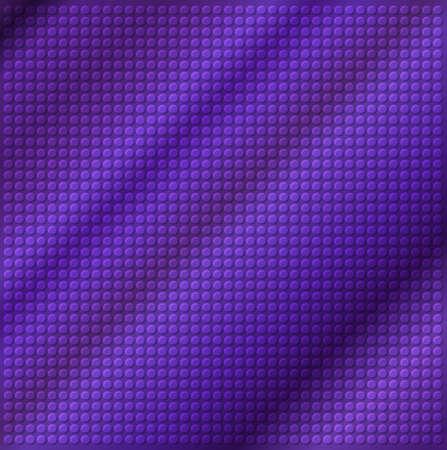 embossing: embossing metallic circle background in purple tone, illustration vector