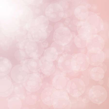 christmas backdrop: light and bokeh on pink background for christmas backdrop