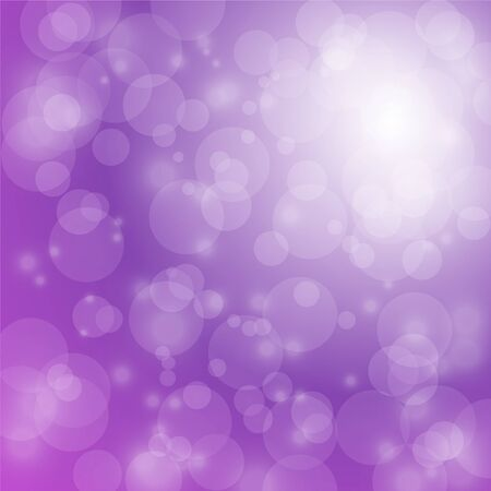 christmas backdrop: light and bokeh on purple background for christmas backdrop Illustration