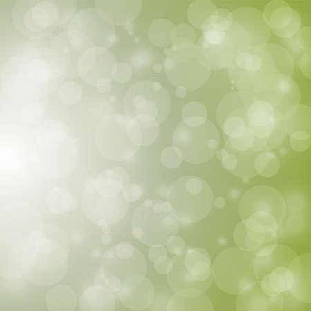 christmas backdrop: light and bokeh on green background for christmas backdrop Illustration