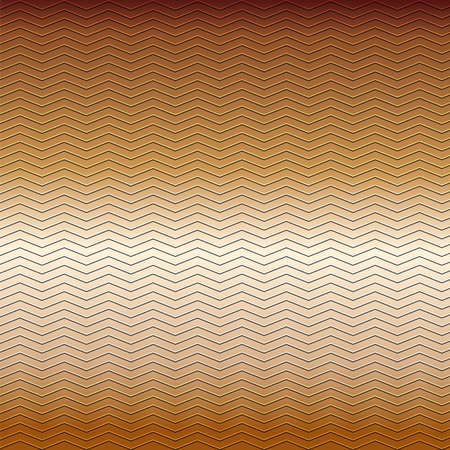 embossing: surface of embossing zigzag line pattern on brown metallic background