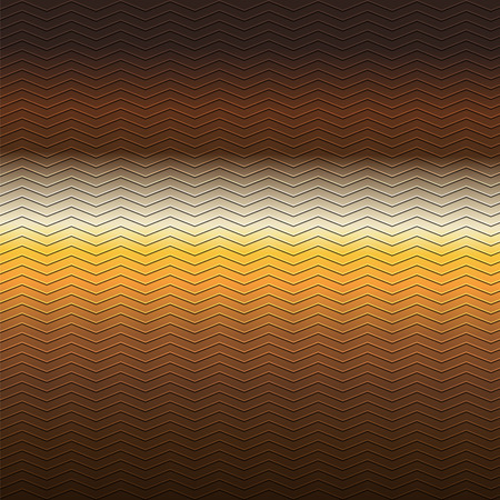 brown pattern: surface of embossing zigzag line pattern on yellow brown metallic background