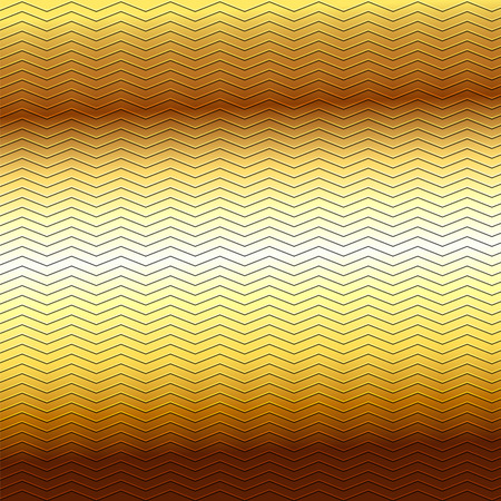 embossing: surface of embossing zigzag line pattern on yellow brown metallic background