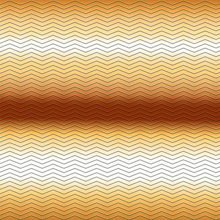 metallic: surface of embossing zigzag line pattern on brown metallic background