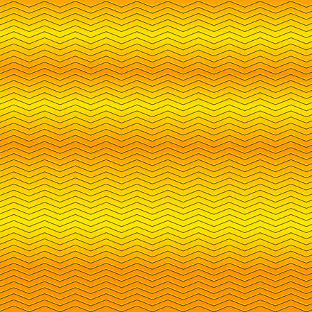 embossing: surface of gold embossing zigzag line pattern on metallic background