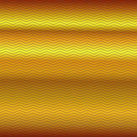 repujado: superficie de gofrado patr�n de l�neas en zigzag en oro amarillo de fondo met�lico de color marr�n