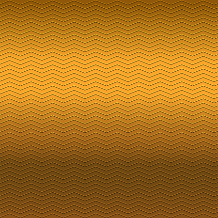metallic background: surface of embossing zigzag line pattern on brown metallic background