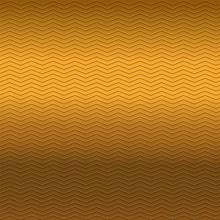 repujado: surface of embossing zigzag line pattern on brown metallic background