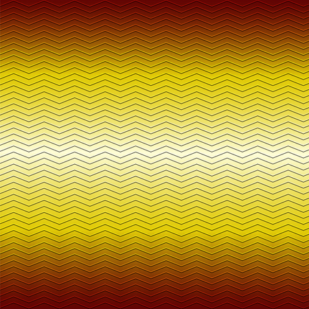 metallic background: surface of embossing zigzag line pattern on yellow brown metallic background