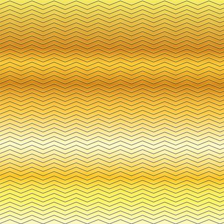 metallic: surface of gold embossing zigzag line pattern on metallic background