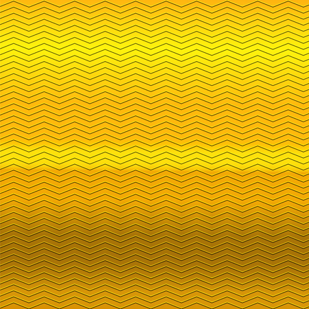 metallic background: surface of gold embossing zigzag line pattern on metallic background