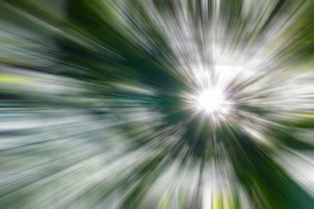 green tone: light with motion blur illustration in green tone for abstract background