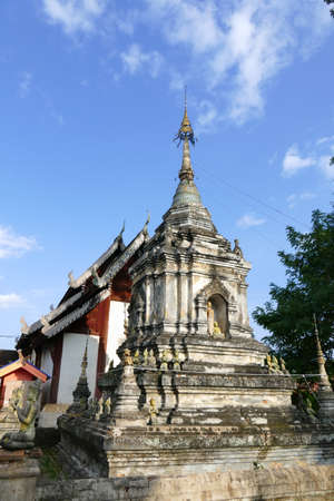buddhist: ancient buddhist pagoda monument