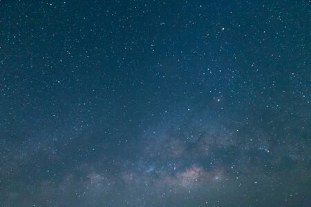 milky way and star astronomy at night sky
